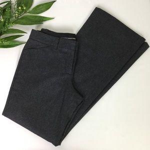 Express Design Studio Editor Gray Wool Dress Pants